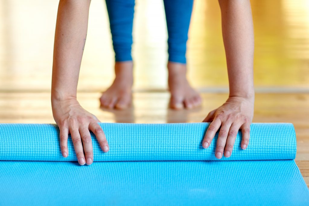 Pilates, mat