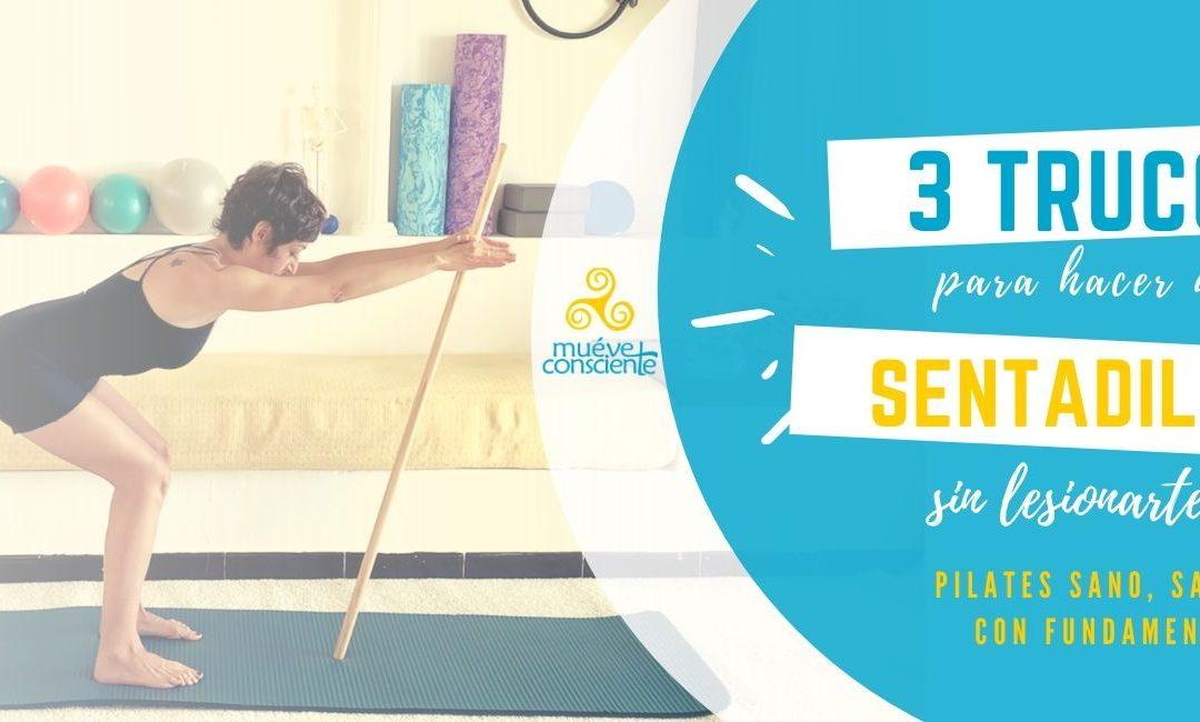 Serie de ejercicios pilateros sanos, sanos y con Fundamento